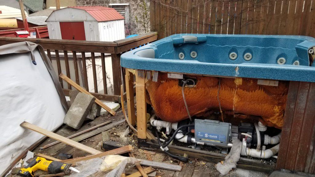 Slam Dunking Junk Appliances disposal